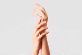 טיפול בפיגמנטציה בכף היד